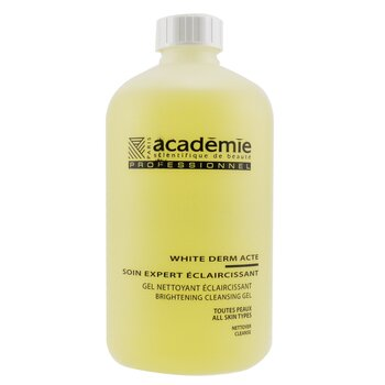 Academie White Derm Acte Brightening Cleansing Gel (Salon Size)