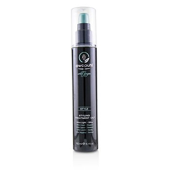 Paul Mitchell Awapuhi Wild Ginger Styling Treatment Oil (Ultra Light - Silky)