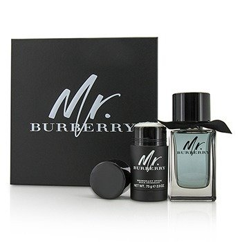 Burberry Mr. Burberry Coffret: Eau De Toilette Spray 100ml + Deodorant Stick 75g