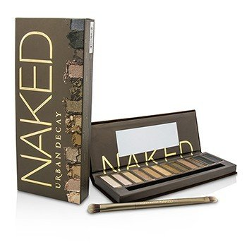 Urban Decay Naked Eyeshadow Palette: 12x Eyeshadow, 1x Doubled Ended Shadow/Blending Brush