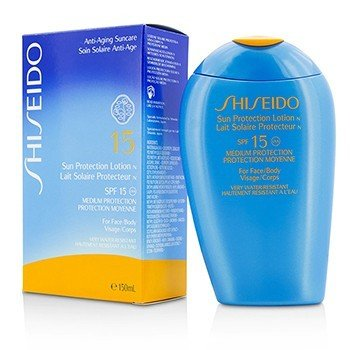 Shiseido Sun Protection Lotion N SPF 15 (For Face & Body)
