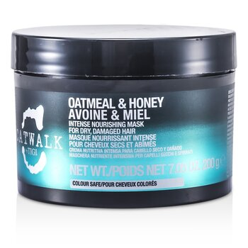 Tigi Catwalk Oatmeal & Honey Intense Nourishing Mask (For Dry, Damaged Hair)