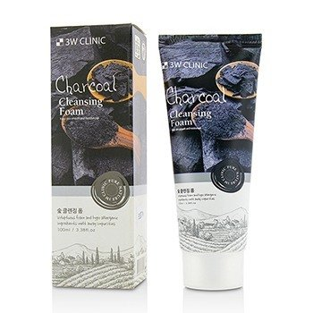3W Clinic Cleansing Foam - Charcoal