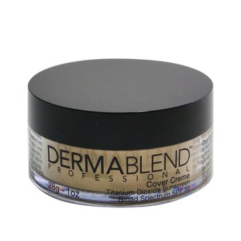 Dermablend Cover Creme Broad Spectrum SPF 30 (High Color Coverage) - Warm Ivory