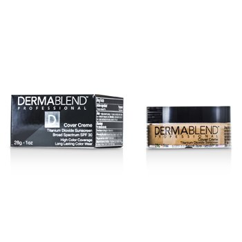 Dermablend Cover Creme Broad Spectrum SPF 30 (High Color Coverage) - Almond Beige