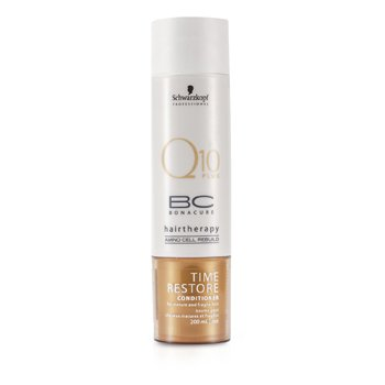 Schwarzkopf BC Time Restore Q10 Plus Conditioner (For Mature and Fragile Hair)