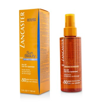 Lancaster Sun Beauty Dry Oil Fast Tan Optimizer SPF50