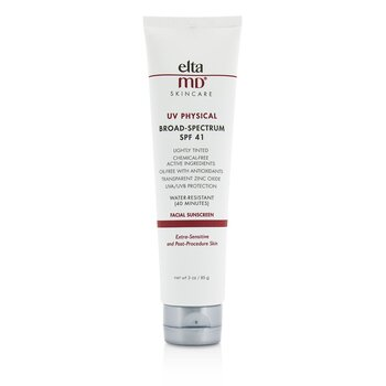EltaMD UV Physical Water-Resistant Facial Sunscreen SPF 41 - For Extra-Sensitive & Post-Procedure Skin