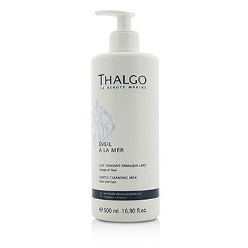 Thalgo Eveil A La Mer Gentle Cleansing Milk (Face & Eyes) - For All Skin Types, Even Sensitive Skin (Salon Size)
