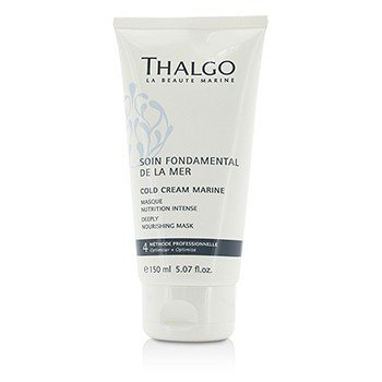 Thalgo Cold Cream Marine Deeply Nourishing Mask - For Dry, Sensitive Skin (Salon Size)