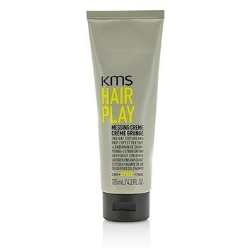 KMS California Hair Play Messing Creme (Provides 2nd-Day Texture and Grip)