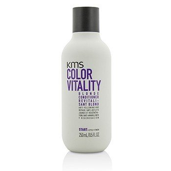 KMS California Color Vitality Blonde Conditioner (Anti-Yellowing and Repair)