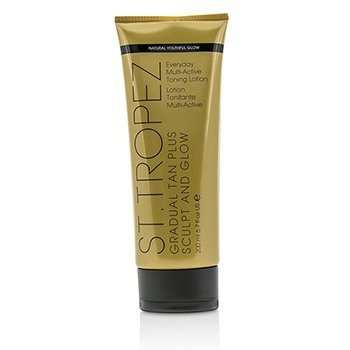 Gradual Tan Plus Sculpt And Glow Everyday Multi-Active Toning Lotion 01474