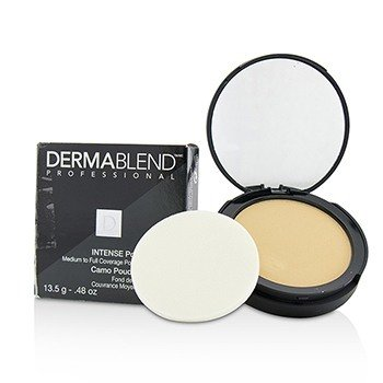 Dermablend Intense Powder Camo Compact Foundation (Medium Buildable to High Coverage) - # Ivory (Box Slightly Damaged)