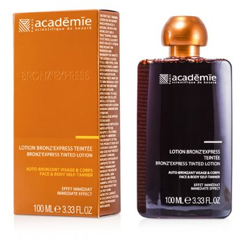 Academie Bronz Express Face and Body Tinted Self-Tanning Lotion