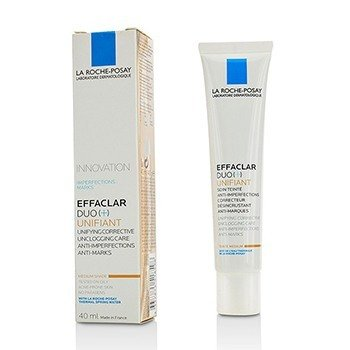 La Roche Posay Effaclar Duo (+) Unifiant Unifying Corrective Unclogging Care Anti-Imperfections Anti-Marks - Medium
