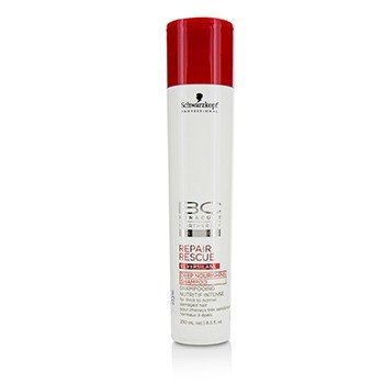 Schwarzkopf BC Repair Rescue Reversilane Deep Nourishing Shampoo (For Thick to Normal Damaged Hair)