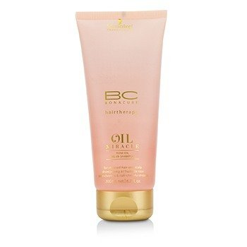 Schwarzkopf BC Oil Miracle Rose Oil Oil-In-Shampoo (For Stressed Hair and Scalp)