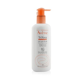 Avene TriXera Nutrition Nutri-Fluid Face & Body Lotion - For Dry Sensitive Skin
