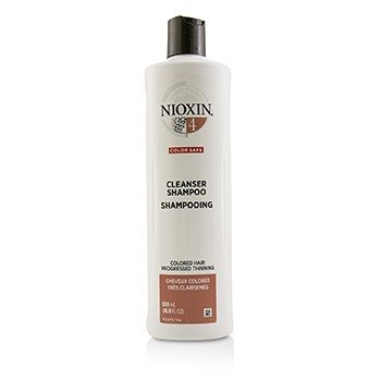 Nioxin Derma Purifying System 4 Cleanser Shampoo (Colored Hair, Progressed Thinning, Color Safe)