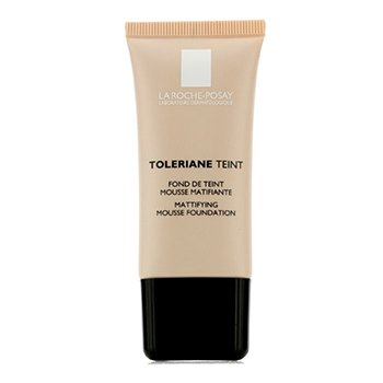 La Roche Posay Toleriane Teint Mattifying Mousse Foundation SPF 20 - 01 Ivory