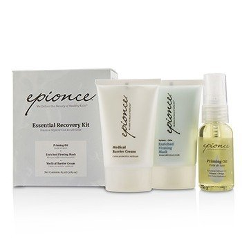 Epionce Essential Recovery Kit: Priming Oil 25ml + Enriched Firming Mask 30g + Medical Barrier Cream 30g