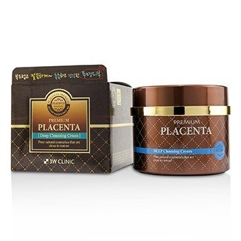 3W Clinic Premium Placenta Deep Cleansing Cream