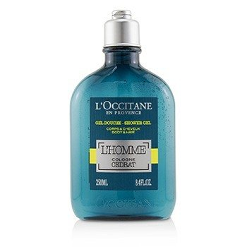 LOccitane LHomme Cologne Cedrat Shower Gel Body & Hair