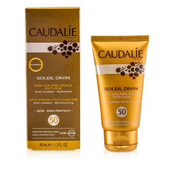 Caudalie Soleil Divin Anti-Ageing Face Suncare SPF 50 High Protection