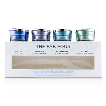 HydroPeptide The Fab Four Multi-Benefit Mask Collection: Miracle Mask + Radiance Mask + Rejuvenating Mask + Balancing Mask