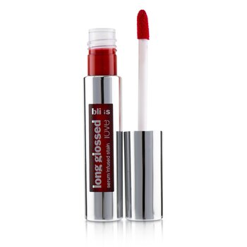 Bliss Long Glossed Love Serum Infused Lip Stain - # Molten Guava