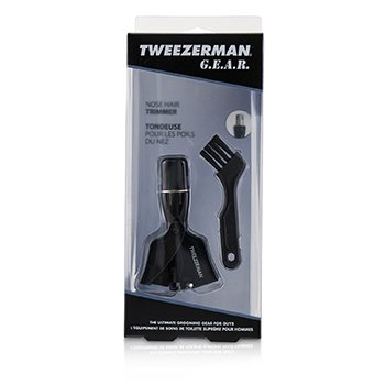 Tweezerman G.E.A.R. Nose Hair Trimmer With Brush