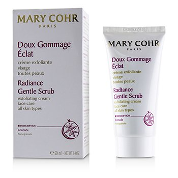 Mary Cohr Radiance Gentle Scrub Exfoliating Cream - For All Skin Types