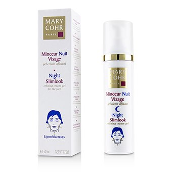 Mary Cohr Night Slimlook - Refining Cream Gel For The Face
