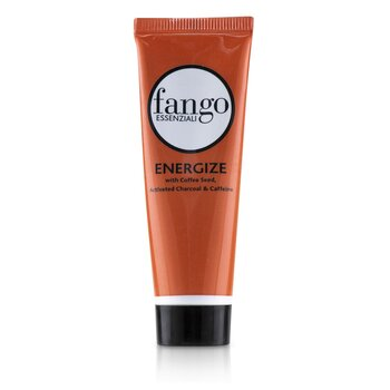 Fango Essenziali Energize Mud Mask with Coffee Seed, Activated Charcoal & Caffeine (Travel Size)