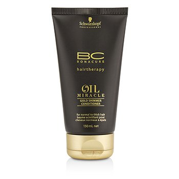 Schwarzkopf BC Oil Miracle Gold Shimmer Conditioner (For Normal to Thick Hair)
