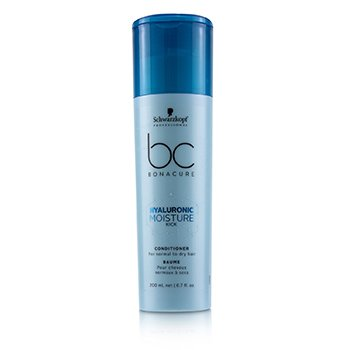 Schwarzkopf BC Bonacure Hyaluronic Moisture Kick Conditioner (For Normal to Dry Hair)