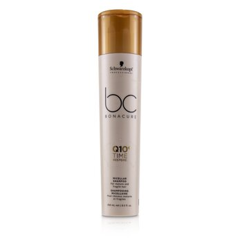 Schwarzkopf BC Bonacure Q10+ Time Restore Micellar Shampoo (For Mature and Fragile Hair)