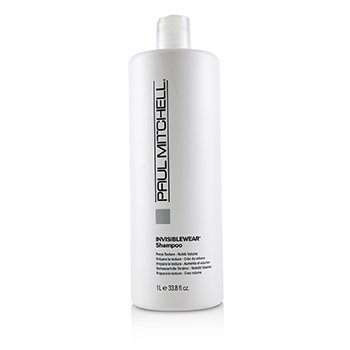 Paul Mitchell Invisiblewear Shampoo (Preps Texture - Builds Volume)