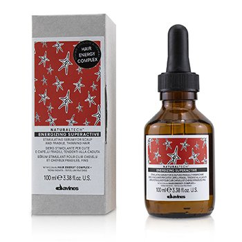 Davines Natural Tech Energizing Superactive Stimulating Serum (For Scalp and Fragile, Thinning Hair)