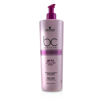 Schwarzkopf BC Bonacure pH 4.5 Color Freeze Micellar Cleansing Conditioner (For  Coloured Hair)