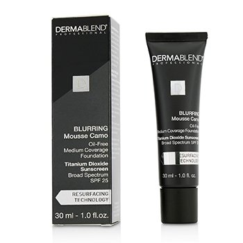 Dermablend Blurring Mousee Camo Oil Free Foundation SPF 25 (Medium Coverage) - #0C Ivory (Exp. Date 10/2019)