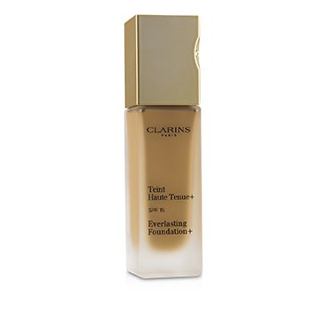 Clarins Everlasting Foundation+ SPF15 - # 114 Cappuccino (Box Slightly Damaged)