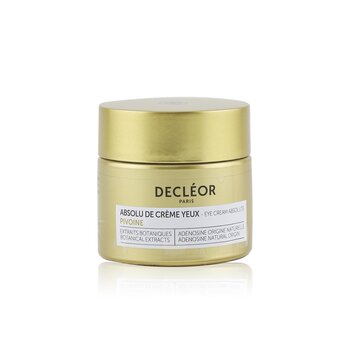 Decleor Peony Eye Cream Absolute (Box Slightly Damaged)