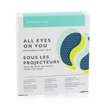 Patchology FlashPatch Eye Gels - All Eyes On You Eye Perfecting Trio Kit: Rejuvenating, Illuminating, Restoring