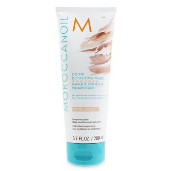 Moroccanoil Color Depositing Mask - # Rose Gold