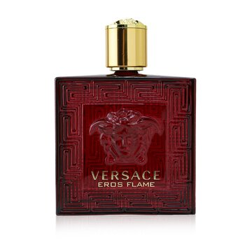 Versace Eros Flame After Shave Lotion (Box Slightly Damaged)