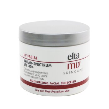 EltaMD UV Facial Moisturizing Facial Sunscreen SPF 30 - For Dry & Post Procedure Skin (Box Slightly Damaged)